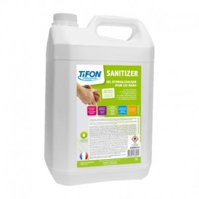 Gel Hydroalcoolique Sanitizer Tifon Bidon 5l